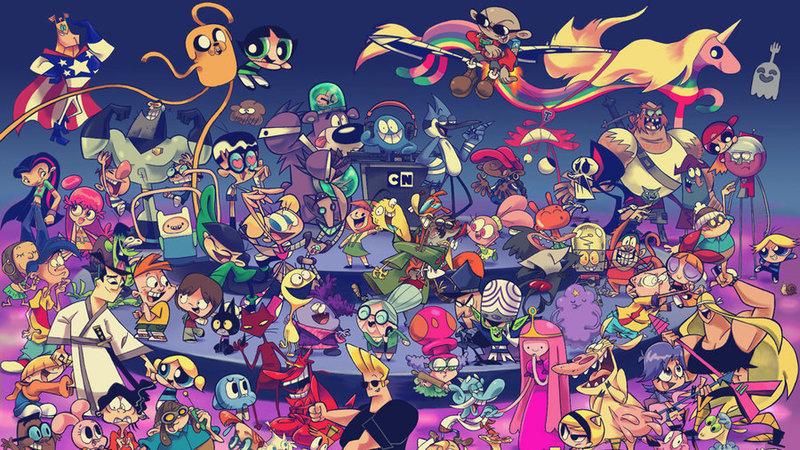 Transfer Cartoon Network